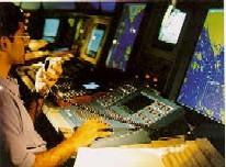 VTS operator at work